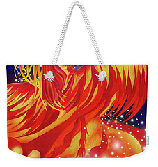 Fire Fairy Weekender Tote Bag