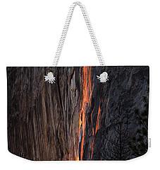 Fire Fall Weekender Tote Bag