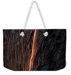 Fire Falls - 2016 Weekender Tote Bag