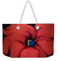 Fire Flower Weekender Tote Bag