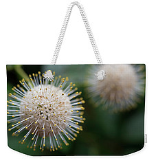 Fire Flowers Weekender Tote Bag