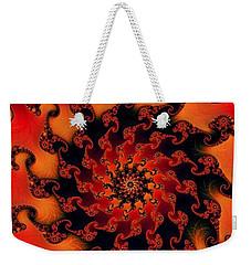 Fire Fractal  Weekender Tote Bag