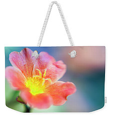 Weekender Tote Bag featuring the photograph Fire From Within by Christi Kraft