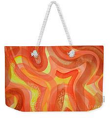 Fire Weekender Tote Bag