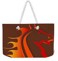 Fire Horse Weekender Tote Bag