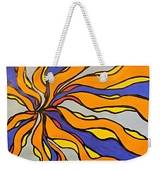 Fire, Ice, And Water Weekender Tote Bag