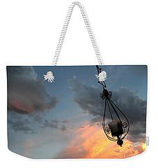 Fire In The Clouds Weekender Tote Bag