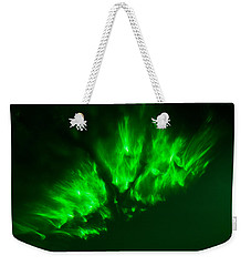 Weekender Tote Bag featuring the photograph Fire In The Sky by Greg Collins