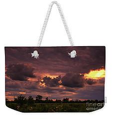 Fire In The Sky Tonight Weekender Tote Bag