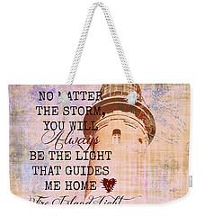 Fire Island Light House Poem 3 Weekender Tote Bag