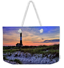 Fire Island Lighthouse Weekender Tote Bag by Rick Berk