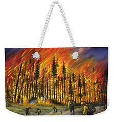 Fire Line 1 Weekender Tote Bag