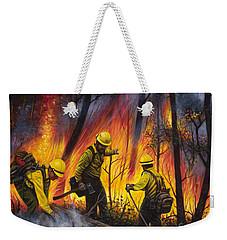 Fire Line 2 Weekender Tote Bag