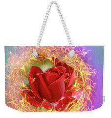Fire Of Desire Weekender Tote Bag