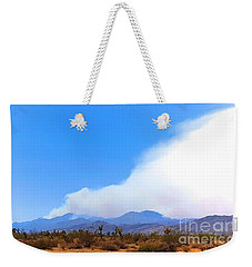 Fire On The Mountain 2 Weekender Tote Bag by Angela J Wright