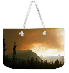 Fire Over St Mary Weekender Tote Bag