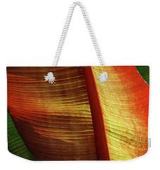 Fire Palm Weekender Tote Bag