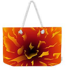 Fire Peony Weekender Tote Bag