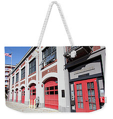 Fire Station Weekender Tote Bag