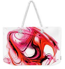 Fire Swirl Weekender Tote Bag