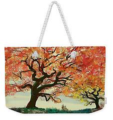 Fire Tree Weekender Tote Bag