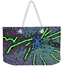 Fire Weekender Tote Bag by Yshua The Painter