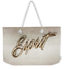 Firebird Esprit Chrome Emblem Weekender Tote Bag