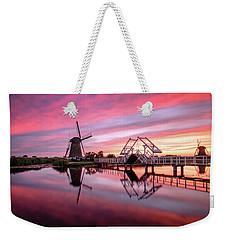 Fired Sky Kinderdijk Weekender Tote Bag