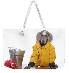 Firedog Weekender Tote Bag