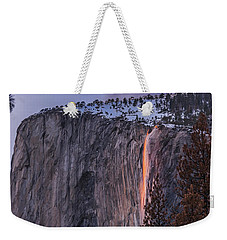Firefall Weekender Tote Bag by Alpha Wanderlust