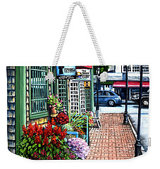 Firefly Lane Bar Harbor Maine Weekender Tote Bag by Eileen Patten Oliver