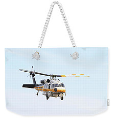 Firehawk In Flight Weekender Tote Bag