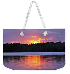 Weekender Tote Bag featuring the photograph Sunsets by Glenn Gordon