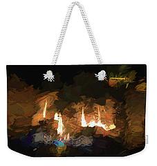 Firelogs Impasto Weekender Tote Bag