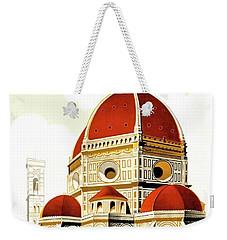 Firenze Travel Poster 1930 Weekender Tote Bag