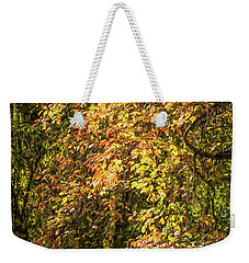 Fires Of Autumn Weekender Tote Bag