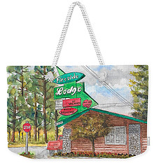 Fireside Lodge In Lake Tahoe, California Weekender Tote Bag