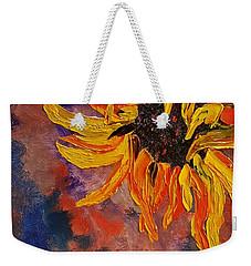 Firespace Flower  27 Weekender Tote Bag