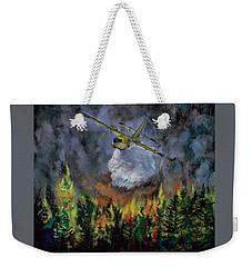 Firestorm Weekender Tote Bag