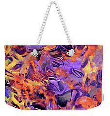 Weekender Tote Bag featuring the photograph Firestorm by Lynda Lehmann