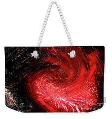 Firestorm Weekender Tote Bag by Sheila Ping