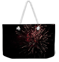 Fireworks 2016 I Weekender Tote Bag by Suzanne Gaff
