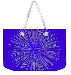 Fireworks Abstract Weekender Tote Bag