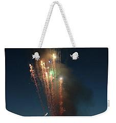 Fireworks After Sunset Weekender Tote Bag