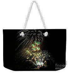 Fireworks Weekender Tote Bag by Craig Wood