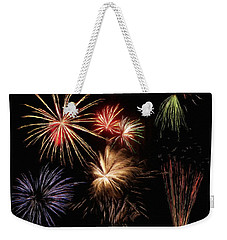 Fireworks Weekender Tote Bag