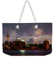 Fireworks Over Tampa 2017 Weekender Tote Bag