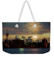 Fireworks Over Tampa 2017 II Weekender Tote Bag