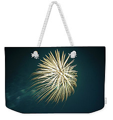 Fireworks Over Texas Weekender Tote Bag