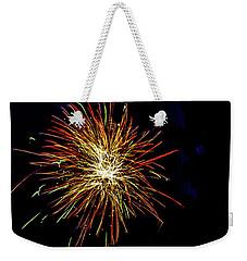 Fireworks Weekender Tote Bag by William Norton